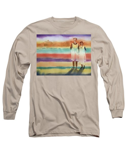 Real Men Wear Aprons Long Sleeve T-Shirt