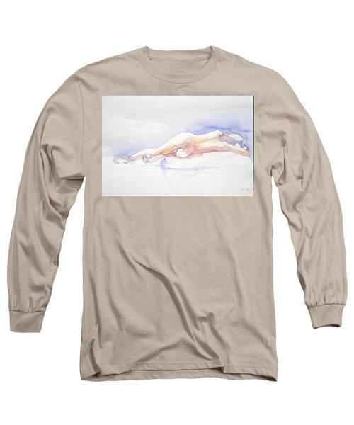 Reclining Figure  Long Sleeve T-Shirt