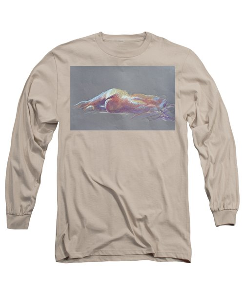 Reclining Study 5 Long Sleeve T-Shirt