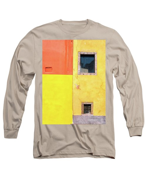 Long Sleeve T-Shirt featuring the photograph Rectangles by Silvia Ganora