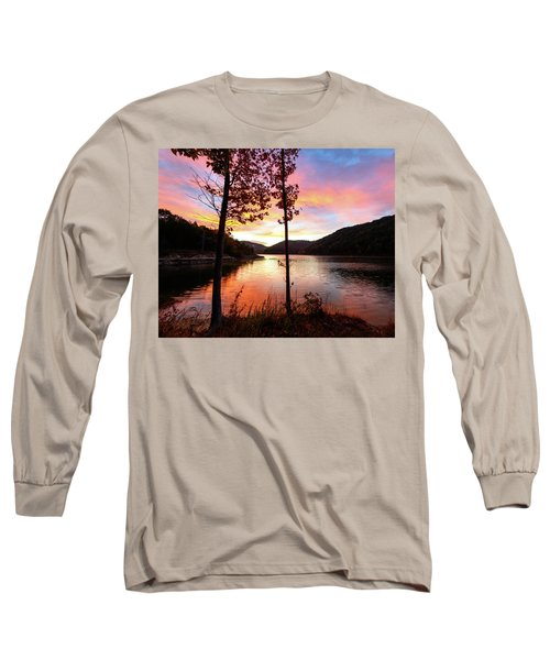 Red Autumn Long Sleeve T-Shirt