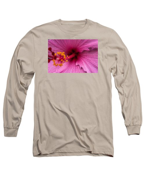Red Bloom - Pla302 Long Sleeve T-Shirt by G L Sarti