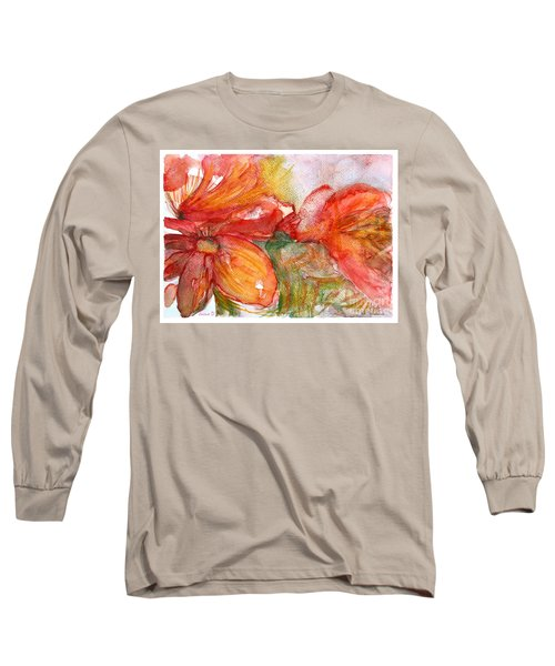 Red Dance Long Sleeve T-Shirt