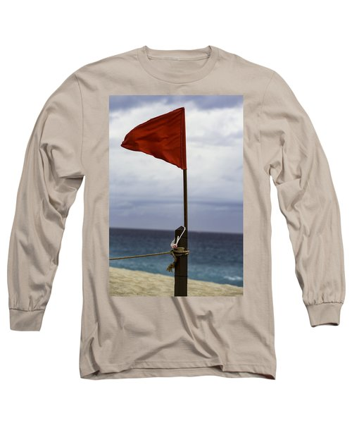 Red Flag Warning Long Sleeve T-Shirt