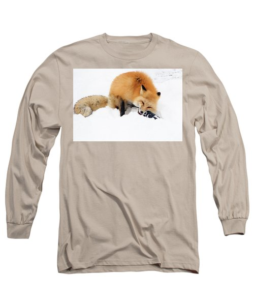 Red Fox To Base Long Sleeve T-Shirt