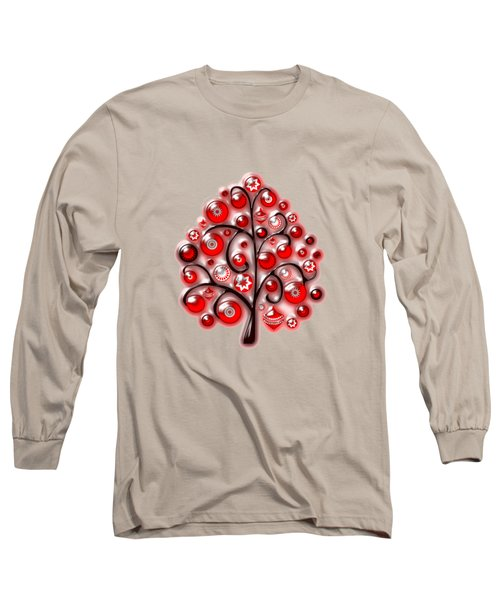 Red Glass Ornaments Long Sleeve T-Shirt