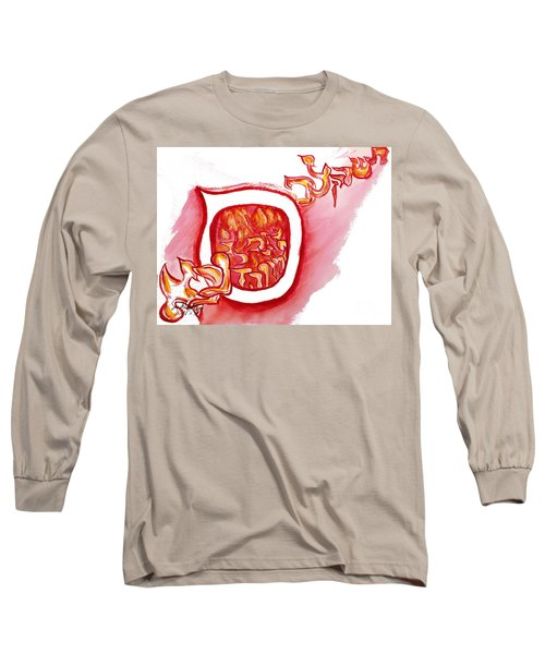 Red Hot Samech Long Sleeve T-Shirt