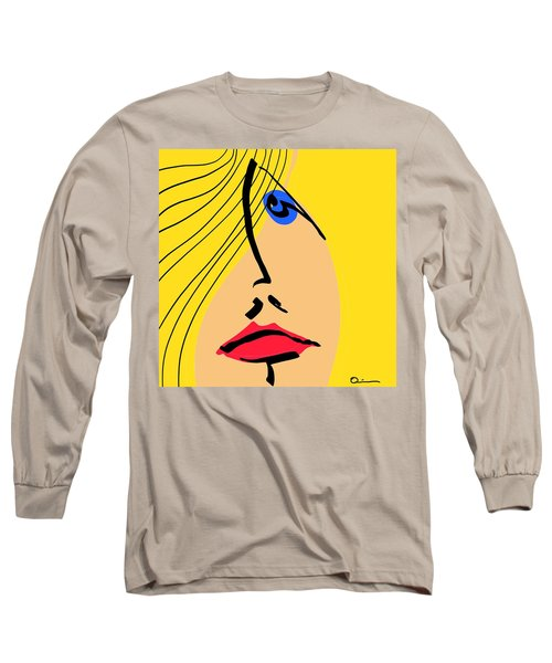 Red Lips Long Sleeve T-Shirt