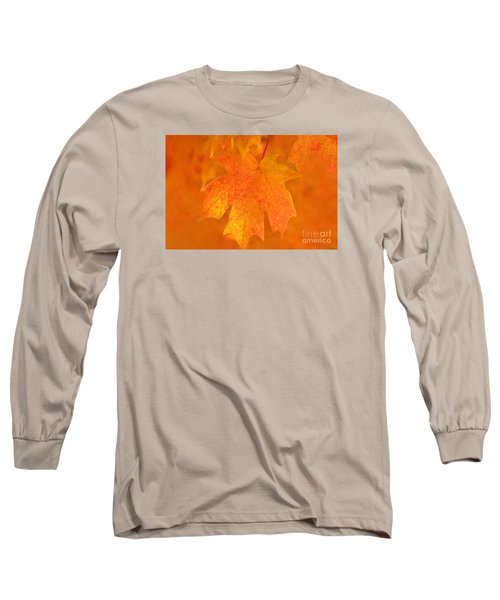 Long Sleeve T-Shirt featuring the photograph Red Maple Autumn by Marion Johnson