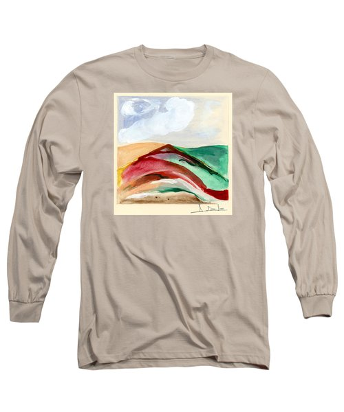 Red Mountain Dawn Long Sleeve T-Shirt