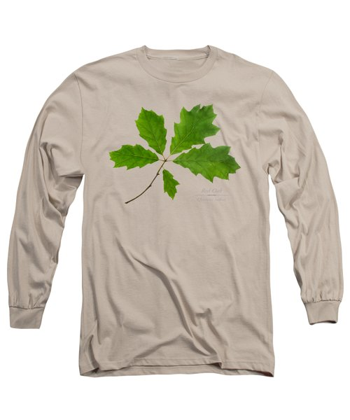 Long Sleeve T-Shirt featuring the photograph Red Oak by Christina Rollo