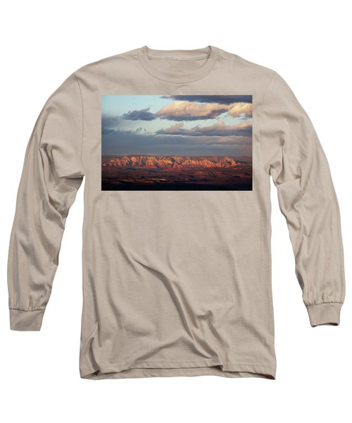 Long Sleeve T-Shirt featuring the photograph Red Rock Crossing, Sedona by Ron Chilston