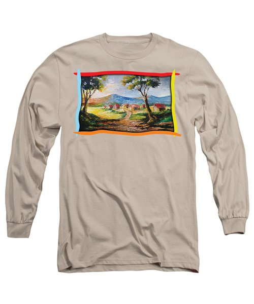 Red Roofs Long Sleeve T-Shirt