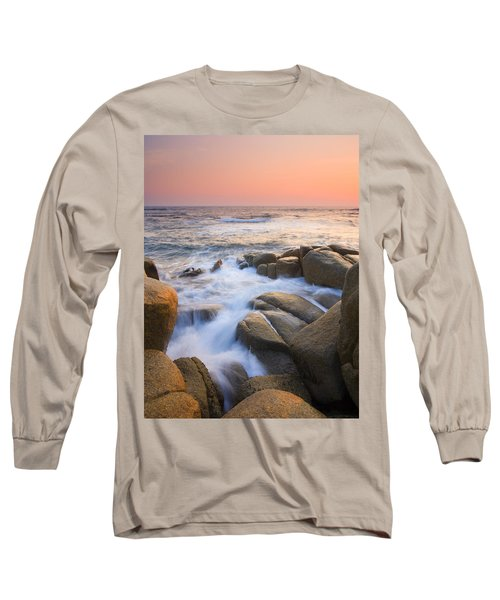 Red Sky At Morning Long Sleeve T-Shirt by Mike  Dawson