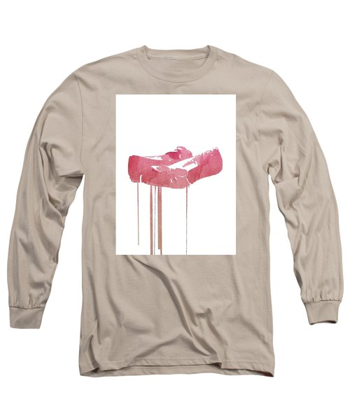 Red Slippers Long Sleeve T-Shirt