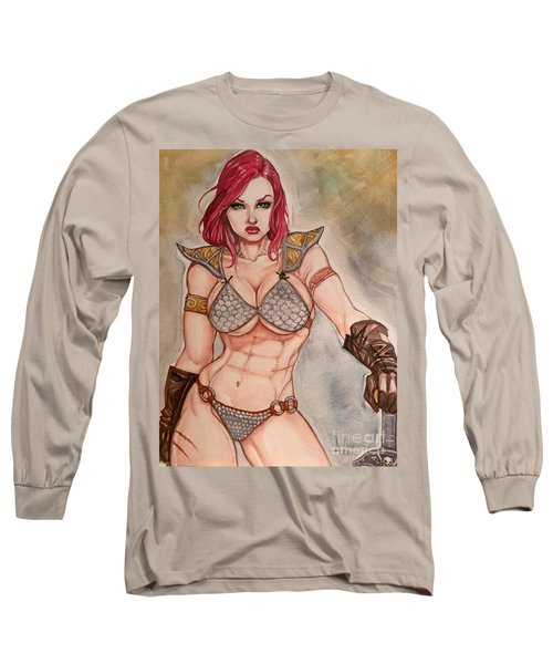 Red Sonja Long Sleeve T-Shirt