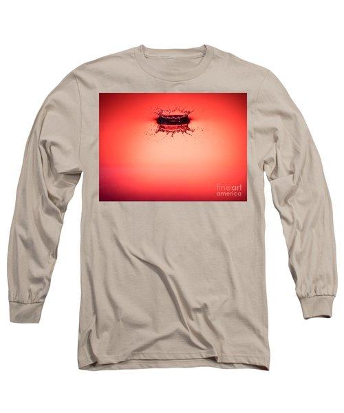 Red Splashdown 2 Long Sleeve T-Shirt