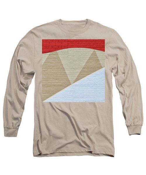 Red Wave Long Sleeve T-Shirt