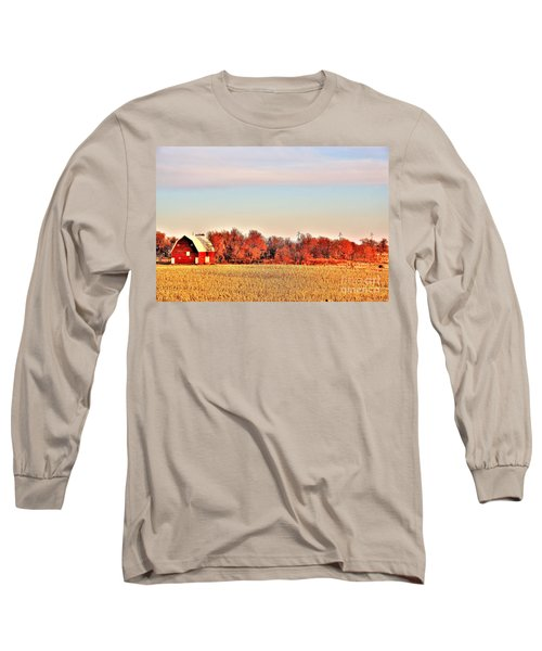 Reds And Oranges Long Sleeve T-Shirt