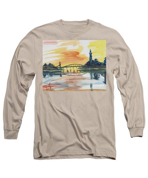 Reflecting Bridge Long Sleeve T-Shirt