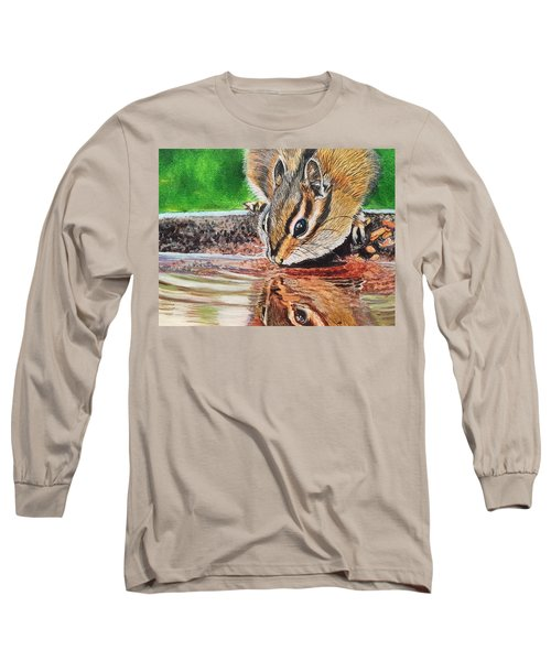 Reflecting On The Day Long Sleeve T-Shirt