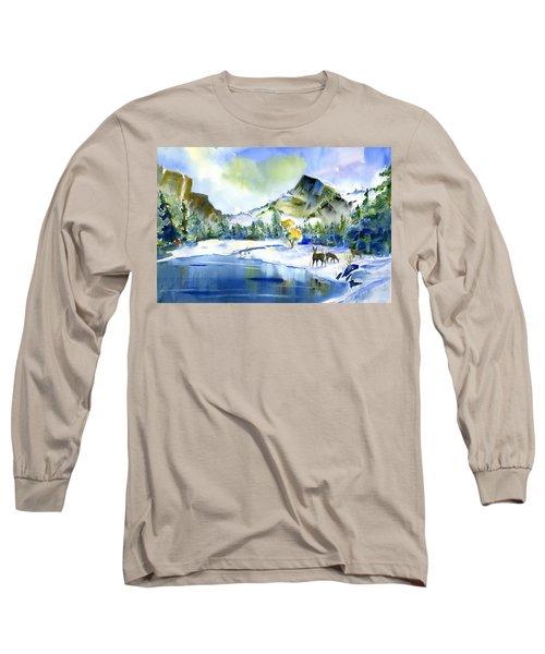 Reflecting Yosemite Long Sleeve T-Shirt