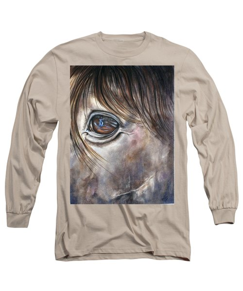 Reflection Of A Painted Pony Long Sleeve T-Shirt