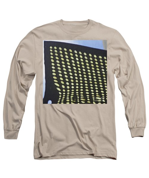 Long Sleeve T-Shirt featuring the photograph Reflection On 42nd Street 3 by Sarah Loft