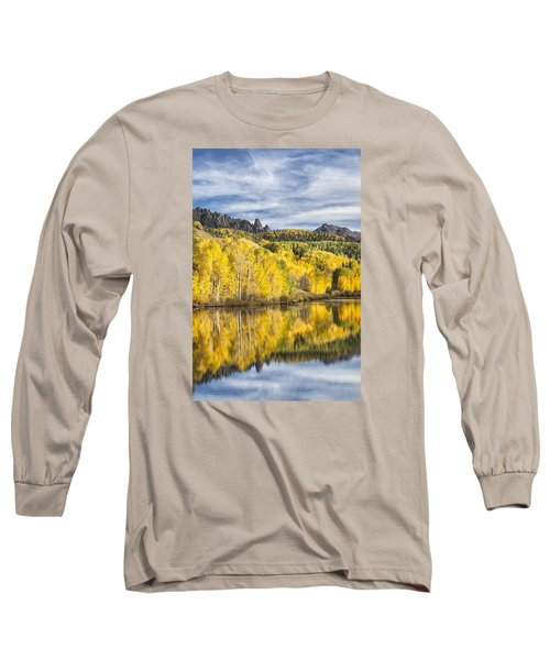 Reflection With Ophir Needles I Long Sleeve T-Shirt