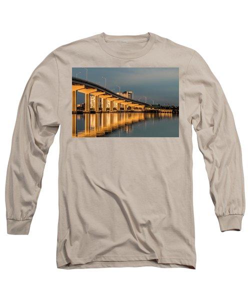 Reflections And Bridge Long Sleeve T-Shirt