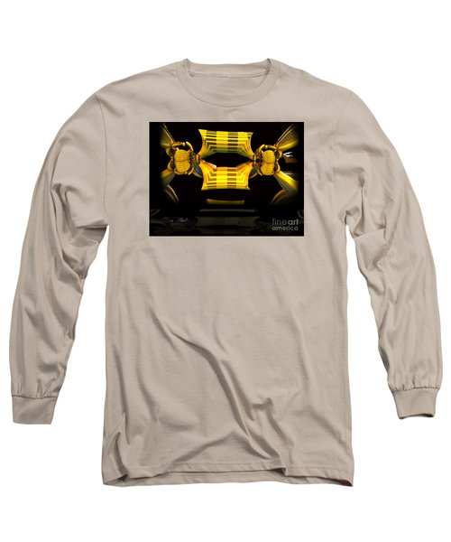 Long Sleeve T-Shirt featuring the digital art Reflections by Melissa Messick