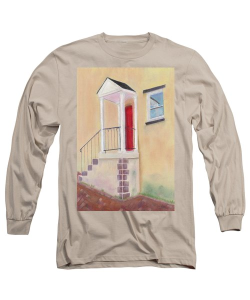 Reflections Of Baltimore Long Sleeve T-Shirt by Arlene Crafton