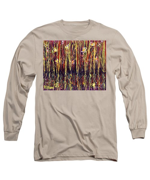 Reflections Of Mt. Dora Florida  Long Sleeve T-Shirt