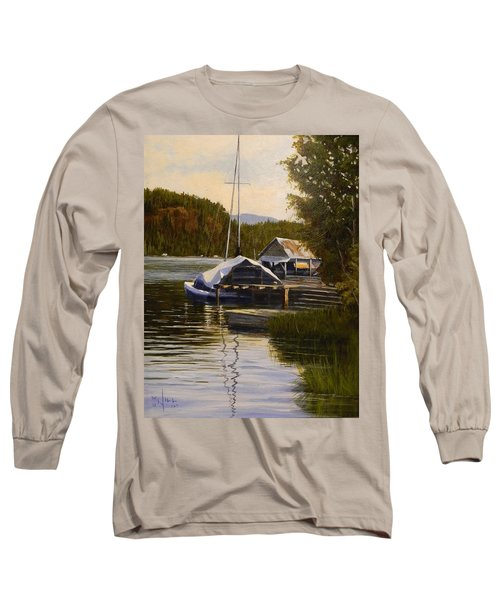Reflections Of Summer Long Sleeve T-Shirt