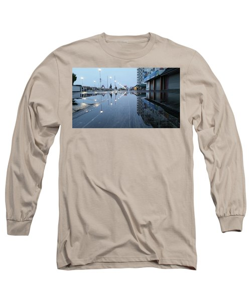 Reflections Of The Boardwalk Long Sleeve T-Shirt
