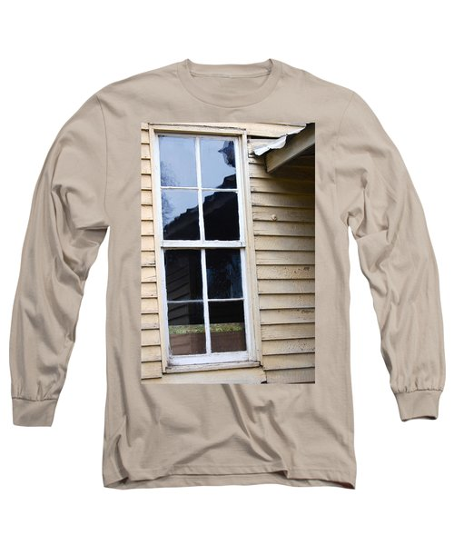 Long Sleeve T-Shirt featuring the photograph Reflections Of The Past by Debbie Karnes