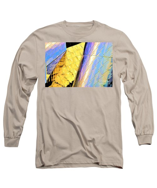 Reflections On Peter B. Lewis Building, Cleveland2 Long Sleeve T-Shirt