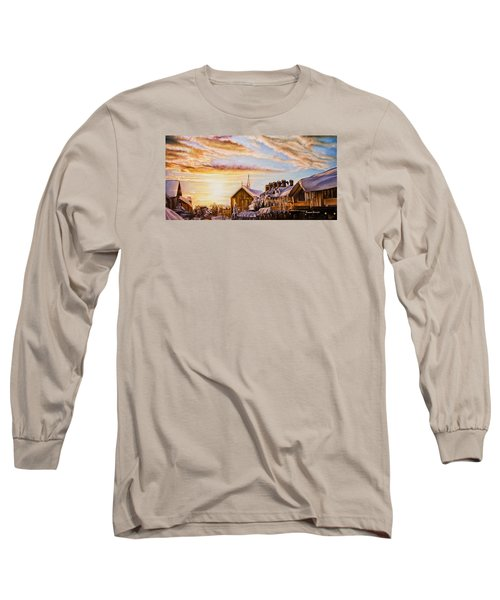 Reflections On The Snow Long Sleeve T-Shirt