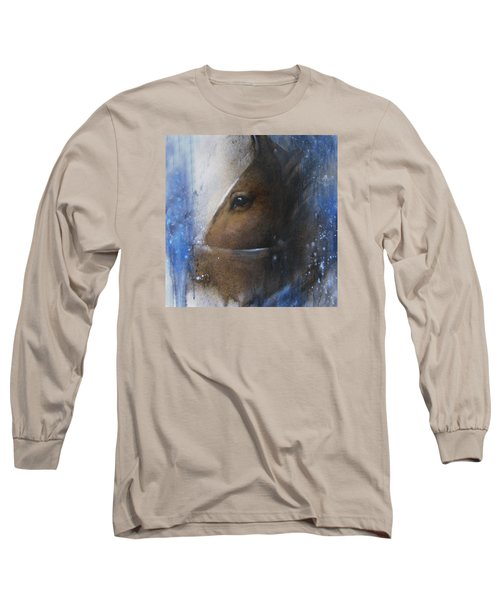 Reflective Horse Long Sleeve T-Shirt