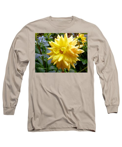 Refreshed Dahlia  Long Sleeve T-Shirt