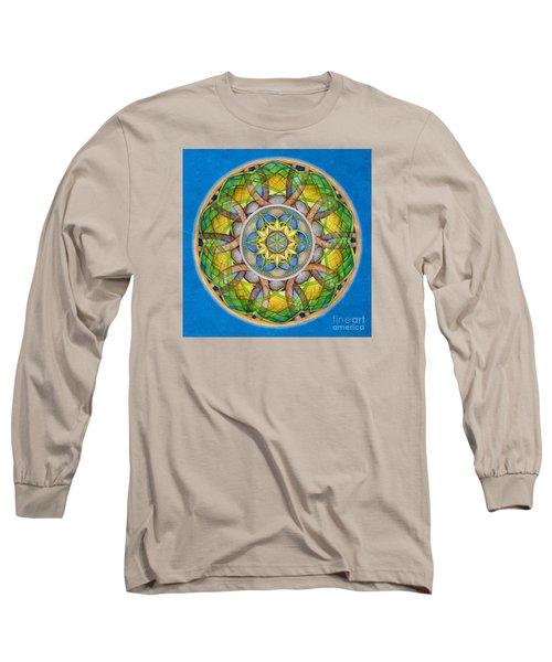 Rejuvenation Mandala Long Sleeve T-Shirt