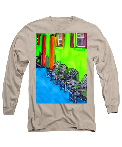 Relax Long Sleeve T-Shirt by Lil Taylor