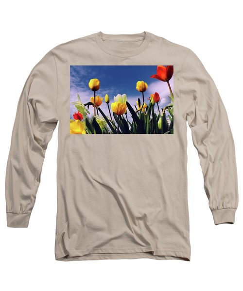 Relax With The Tulips Long Sleeve T-Shirt