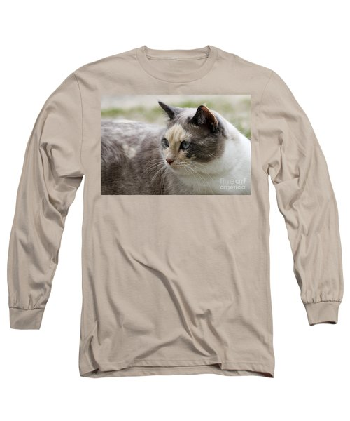 Long Sleeve T-Shirt featuring the photograph Relaxed by Teresa Zieba