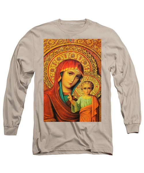 Religion In Red Long Sleeve T-Shirt