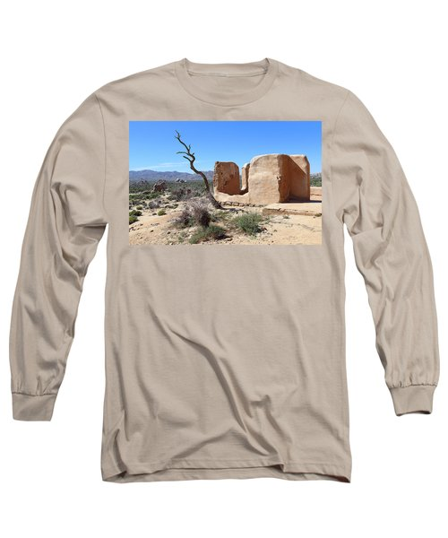 Long Sleeve T-Shirt featuring the photograph Remain Standing Of Ryan Ranch  by Viktor Savchenko