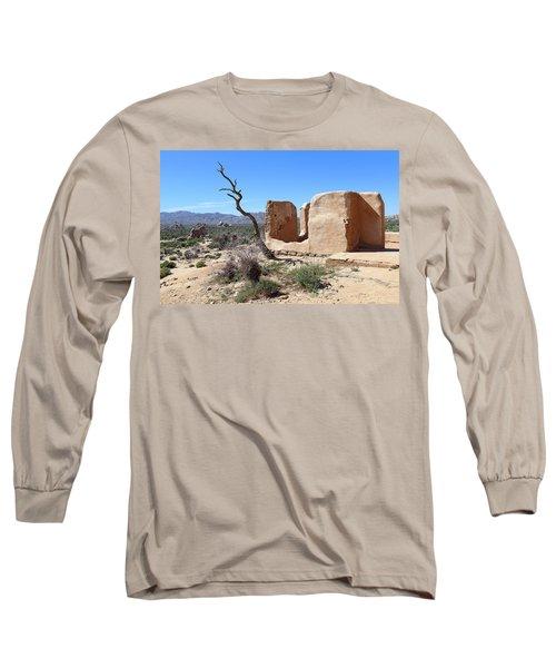 Remain Standing Of Ryan Ranch  Long Sleeve T-Shirt by Viktor Savchenko
