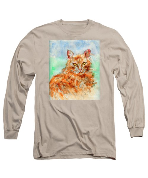Remembering Butterscotch Long Sleeve T-Shirt by P J Lewis