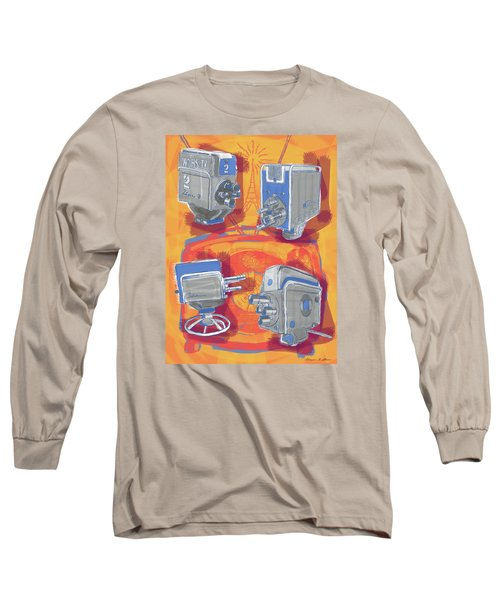 Remembering Television Long Sleeve T-Shirt