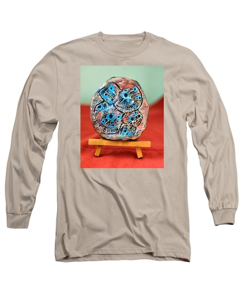 Remendando Heridas... Long Sleeve T-Shirt by Edgar Torres